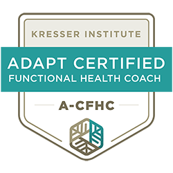 ADAPT Certified Functional Health Coach badge