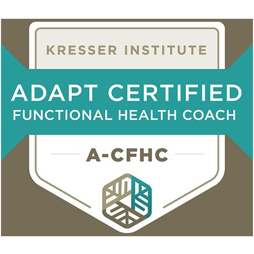 ADAPT Certified Functional Health Coach badge